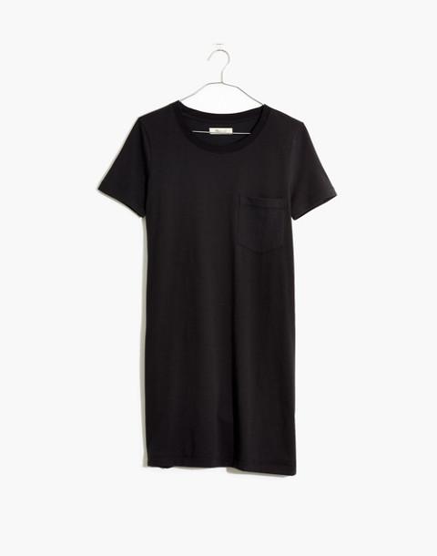 Tee Dress in true black image 4