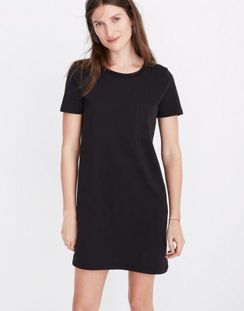 Tee Dress in true black image 1