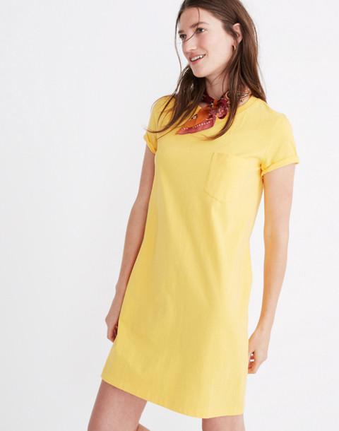 Tee Dress in golden lantern image 2