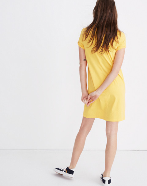Tee Dress in golden lantern image 3