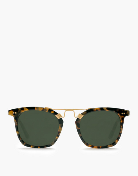 Krewe® Lafayette Sunglasses in blonde tortoise 24k image 3