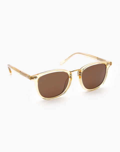 Krewe® Franklin Sunglasses in champagne polarized 24k image 2