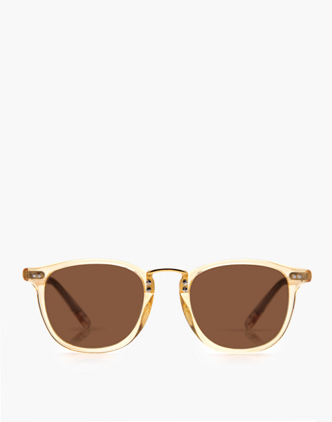 Krewe® Franklin Sunglasses in champagne polarized 24k image 3