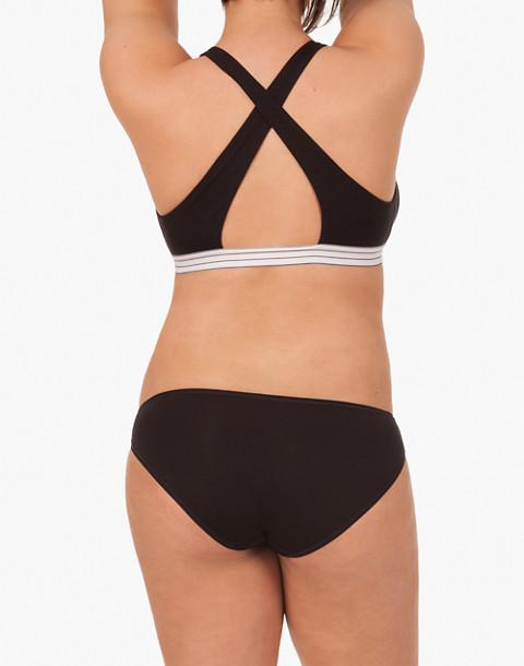 LIVELY™ Cross-Back Bralette in black image 2