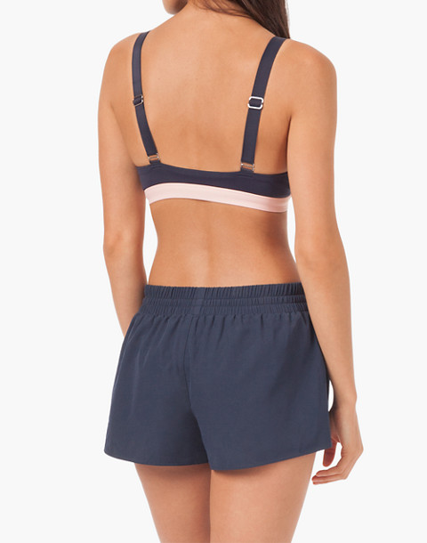 LIVELY™ Active Cross-Back Bra in pink image 2