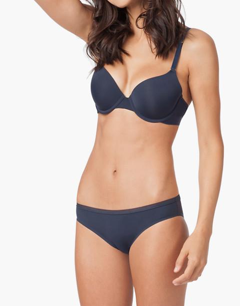 LIVELY™ Mesh-Back Bikini in blue image 1