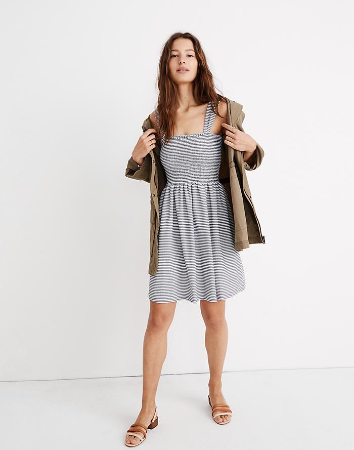 b082dedd0a8b Texture   Thread Smocked Dress in Stripe