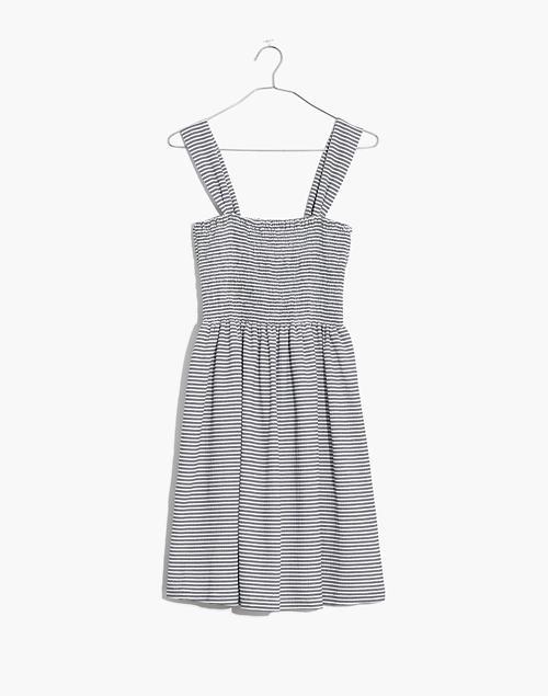 66e6edb2dc Texture  amp  Thread Smocked Dress in Stripe in white ellis stripe ...