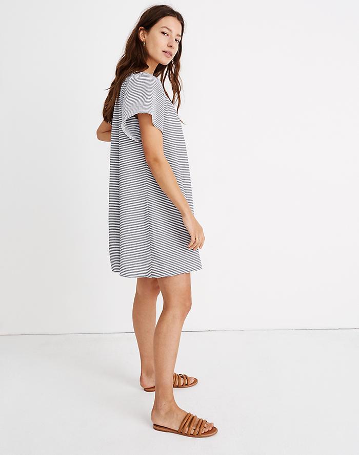 bca5004ce9 Texture   Thread Square-Neck Smocked Dress