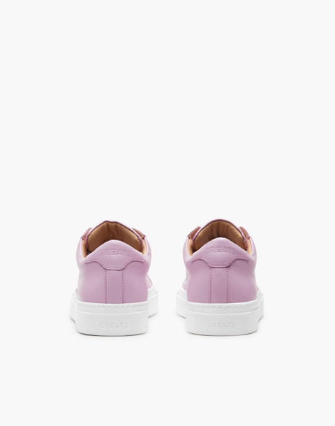GREATS® Royale Leather Low-Top Sneakers in pink image 2