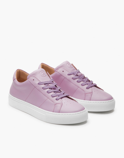 GREATS® Royale Leather Low-Top Sneakers in pink image 1