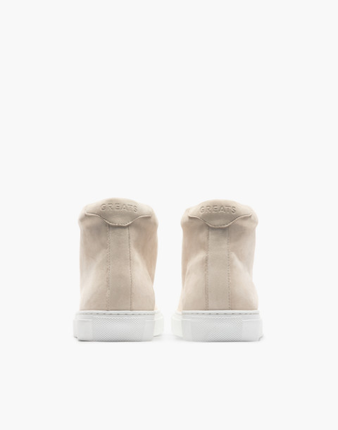 GREATS® Royale Nubuck High-Top sneakers in natural image 2