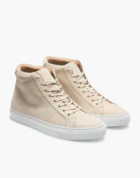 GREATS® Royale Nubuck High-Top sneakers in natural image 1