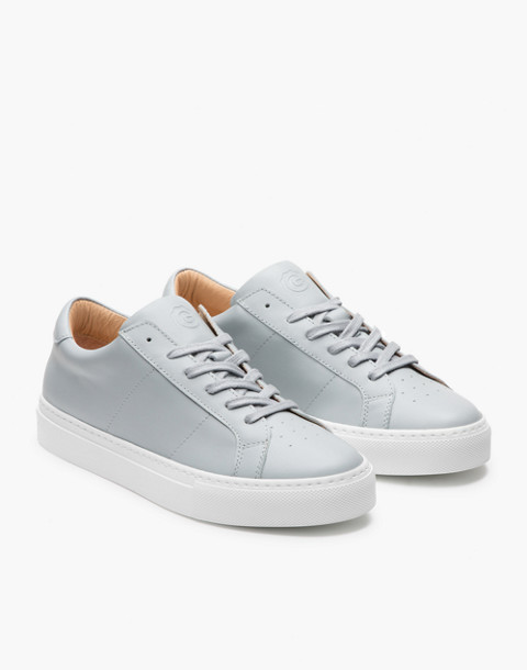 GREATS® Royale Leather Low-Top Sneakers in gray image 1