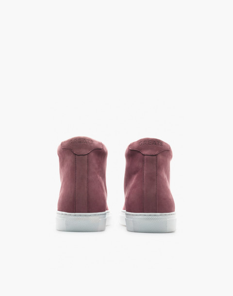 GREATS® Royale Leather High-Top Sneakers in purple image 2