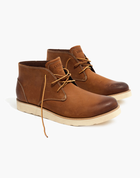 Eastland® Jack Plain Toe Chukka Boots in peanut leather image 2