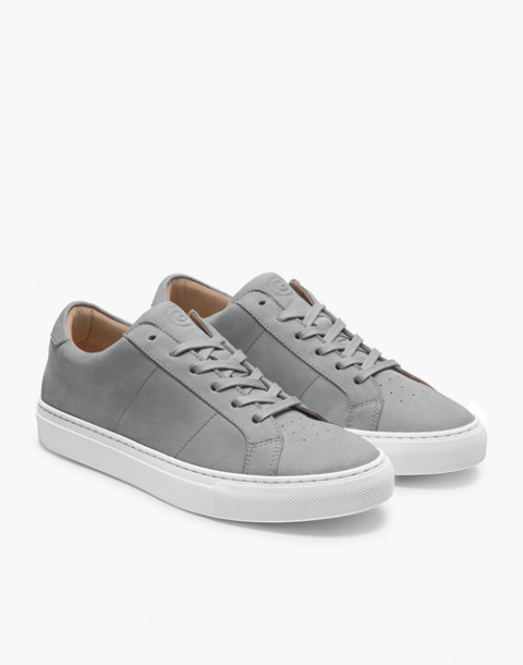 GREATS® Royale Nubuck Low-Top Seakers in gray image 1