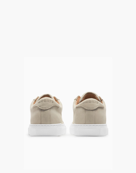 GREATS® Royale Nubuck Low-Top Sneakers in natural image 2