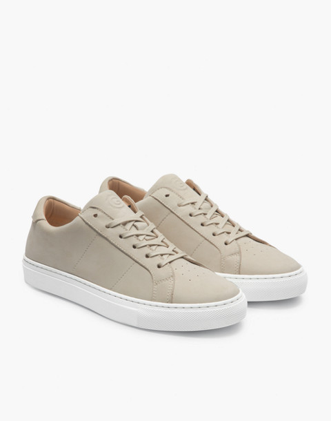 GREATS® Royale Nubuck Low-Top Sneakers in natural image 1
