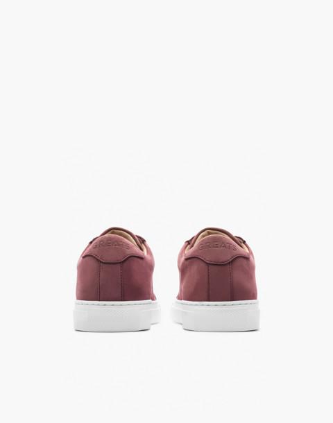 GREATS® Royale Nubuck Low-Top Sneakers in purple image 2