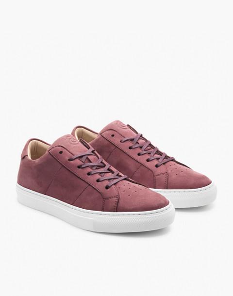 GREATS® Royale Nubuck Low-Top Sneakers in purple image 1
