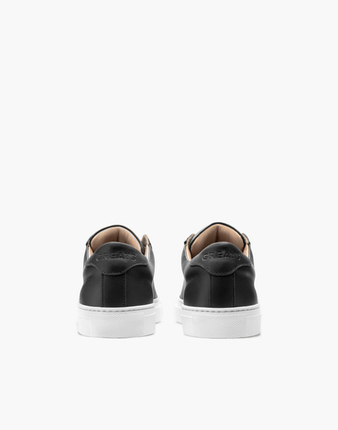 GREATS® Royale Leather Low-Top Sneakers in black image 2