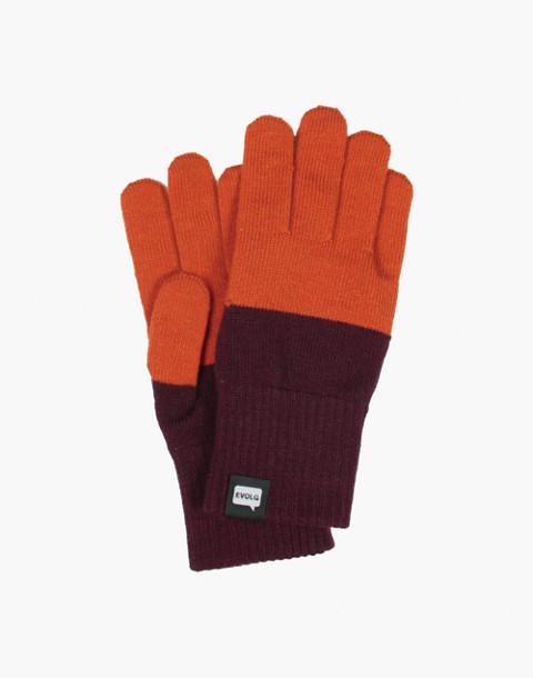 EVOLG® 2Ton Touchscreen Gloves in orange image 1