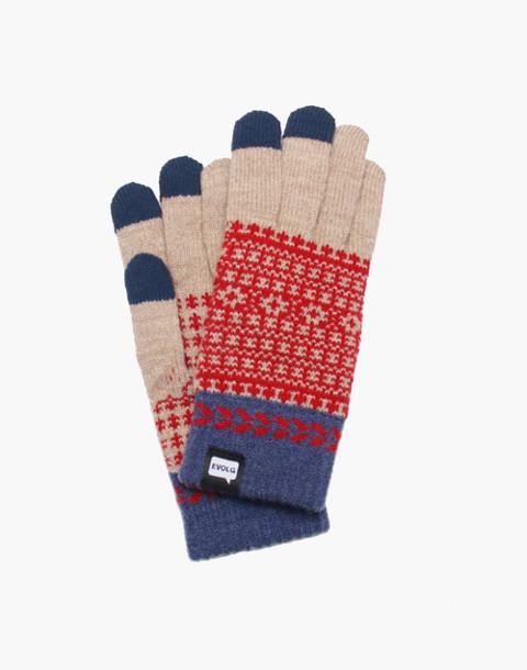 EVOLG® Fleur Touchscreen Gloves in natural image 1