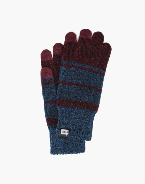EVOLG® Atlus Touchscreen Gloves in red image 1