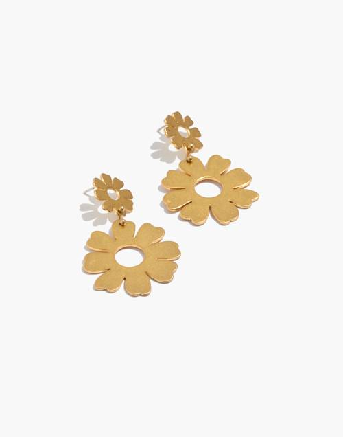 Flower Statement Earrings by Madewell