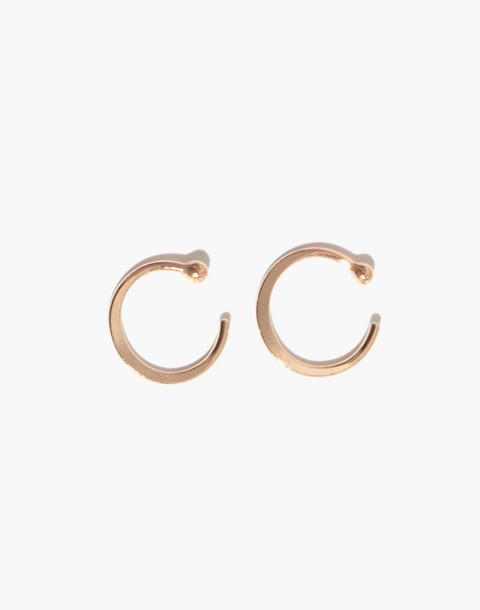 Melissa Joy Manning® 14k Gold Hug Hoop Earrings in gold image 1