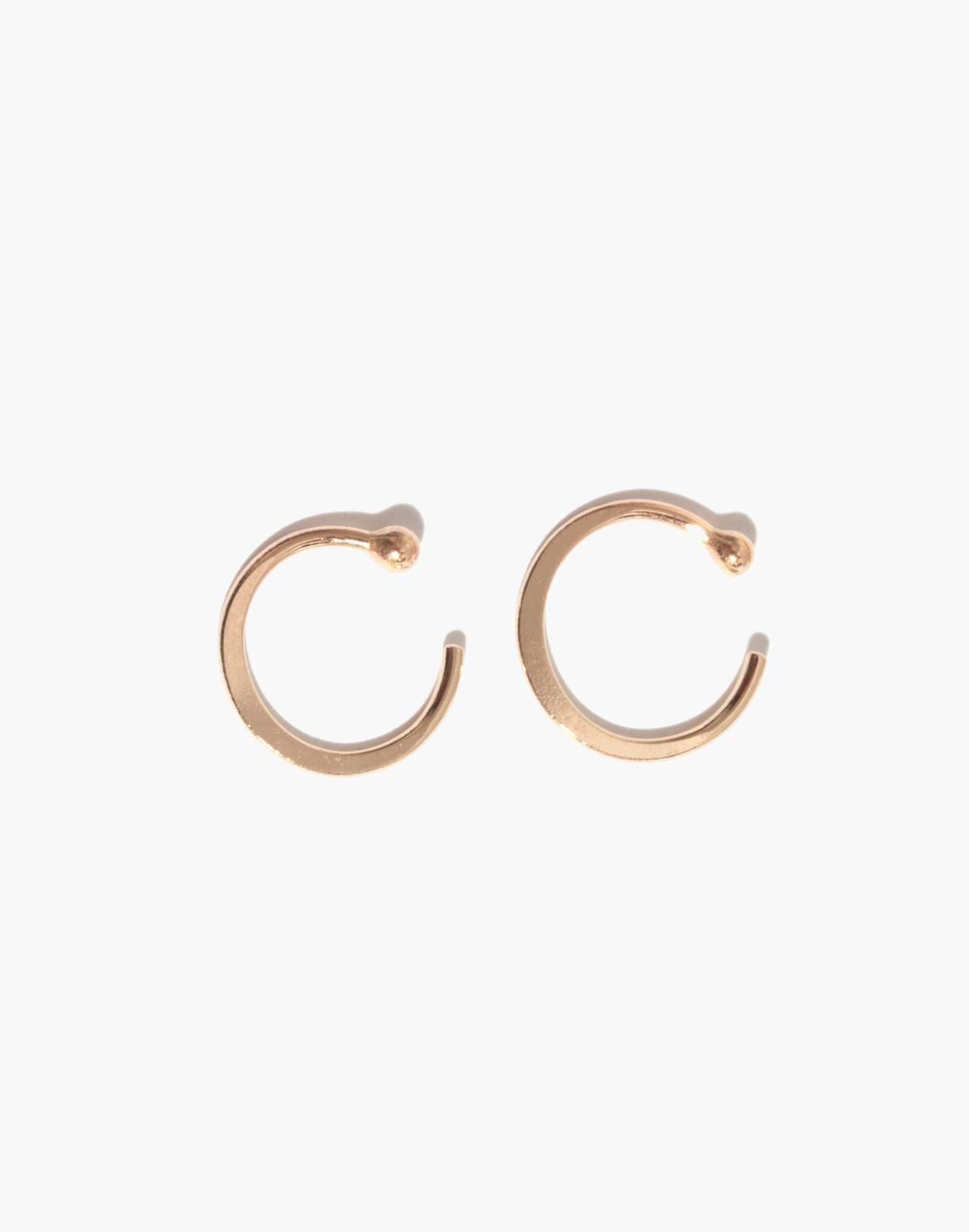 Melissa Joy Manning® 14k Gold Hug Hoop Earrings in gold image 1