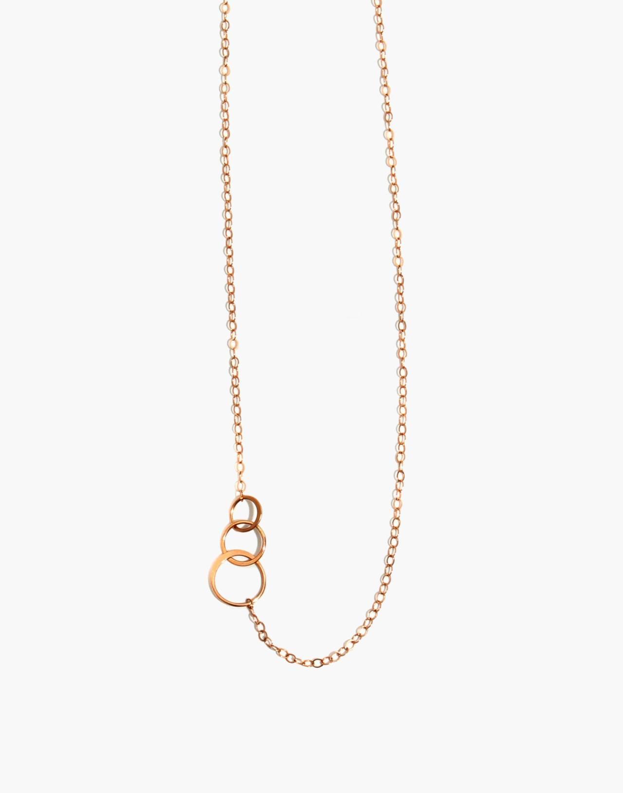 Melissa Joy Manning® 14k Gold Graduated Circle Necklace in gold image 1
