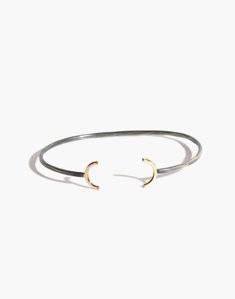 Melissa Joy Manning® 14k Gold Crescent Open Cuff Bracelet in gold image 1