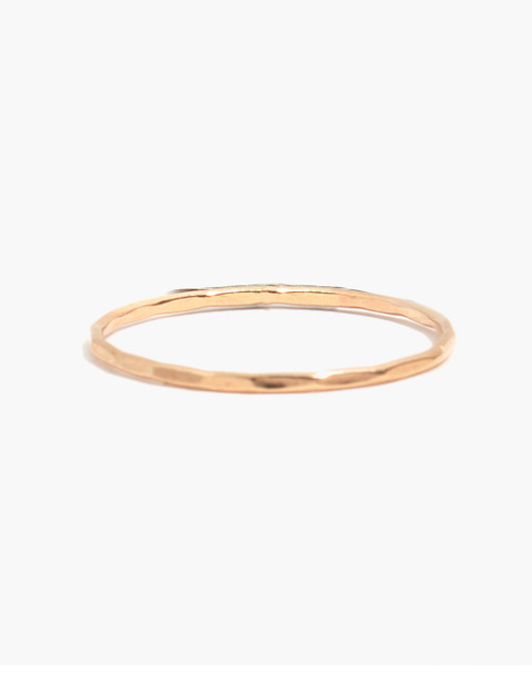 Melissa Joy Manning® 14k Gold Single Stacking Ring in gold image 1