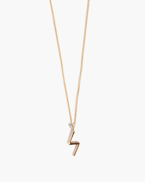 Melissa Joy Manning® 14k Gold Bolt Pendant Necklace in gold image 1