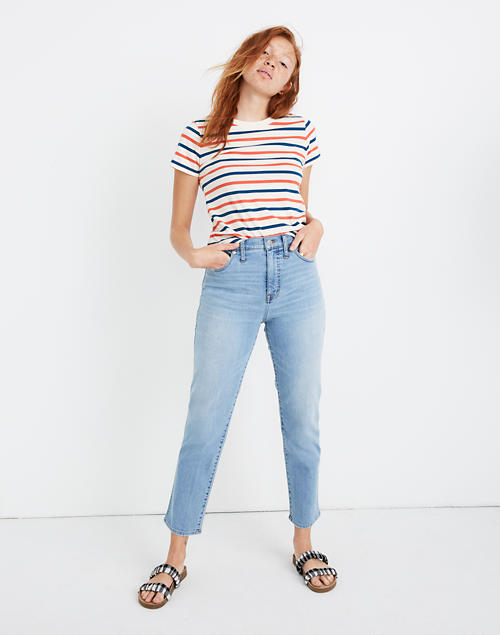 Stovepipe Jeans In Vance Wash by Madewell