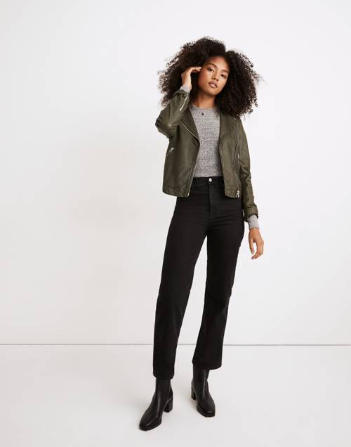 Tall Slim Wide Leg Jeans In Lunar Wash by Madewell