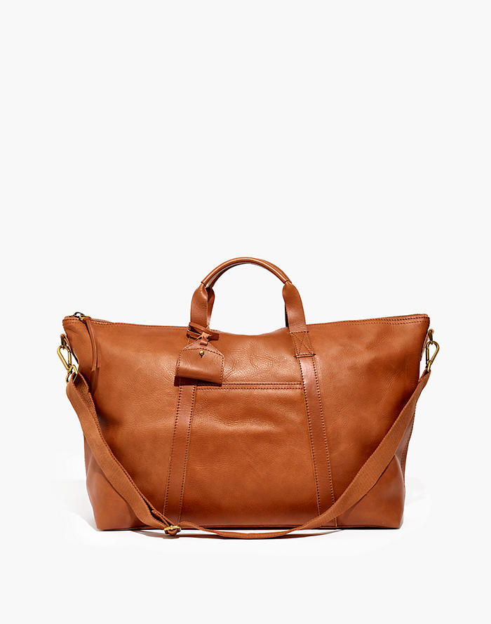 6be5f791e The Essential Overnight Bag in Leather