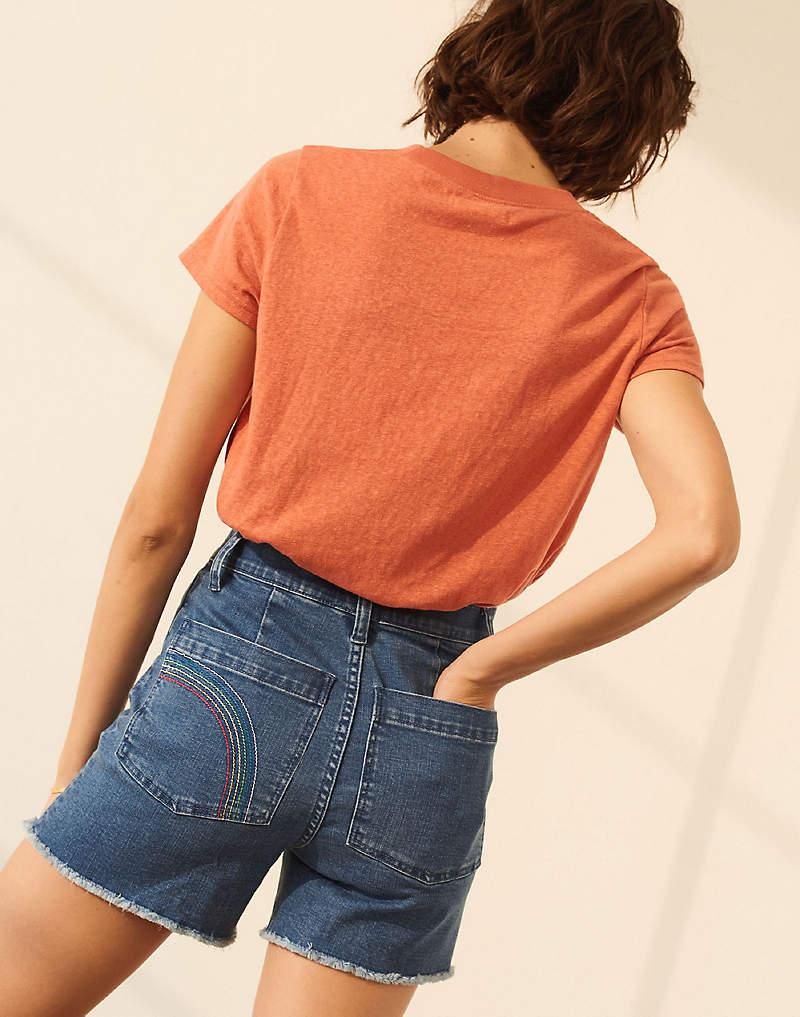 1ce060c02d7 Shop High-rise Denim Shorts