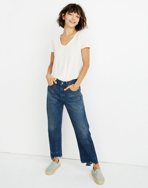 Chimala® Selvedge Denim Used Ankle Cut Jeans by Madewell