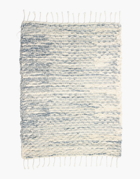 Madewell x The New Denim Project® Rug in white multi image 1