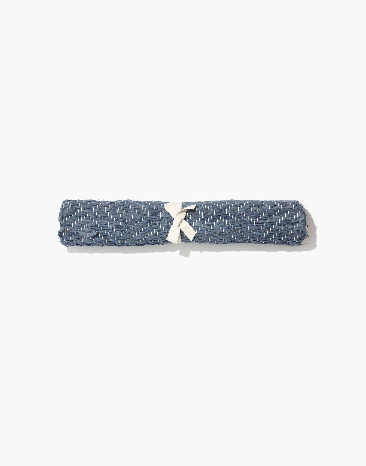 Madewell x The New Denim Project® Rug in indigo/white multi image 2