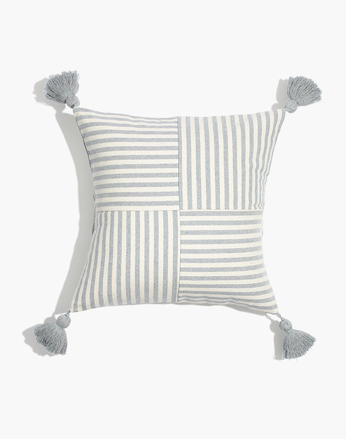 Madewell X The New Denim ProjectR Square Pillow