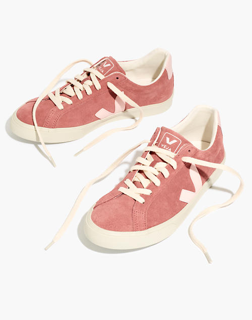 veja-suede-esplar-low-sneakers-in-dried-petal by madewell
