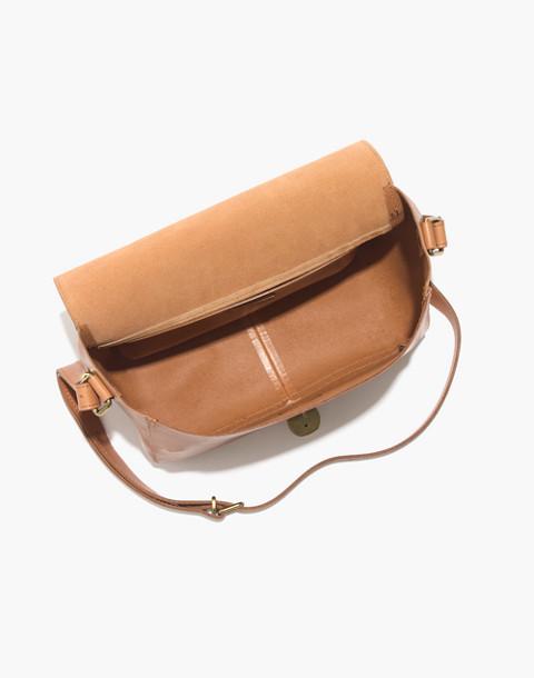 The Abroad Shoulder Bag in desert camel image 2