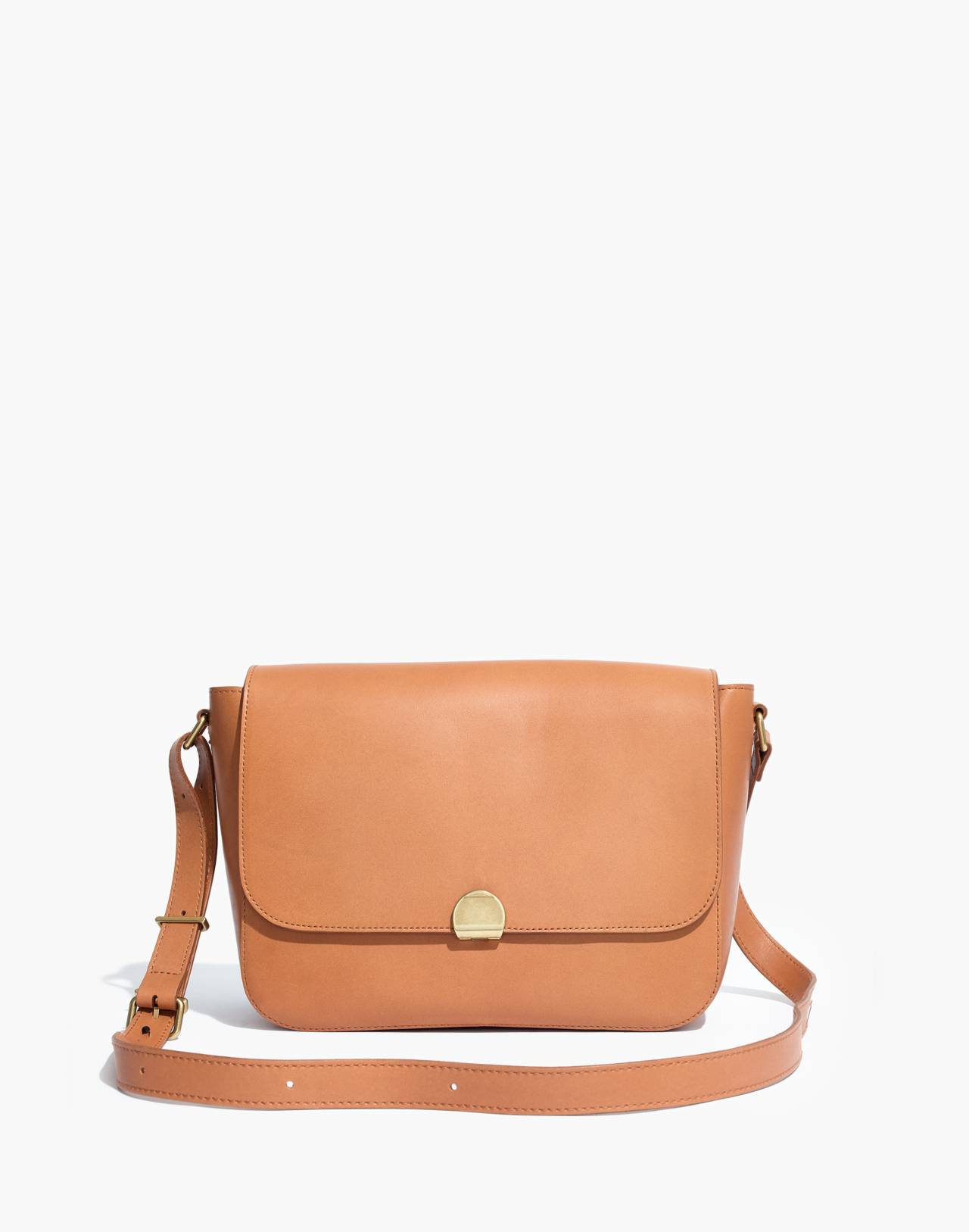 The Abroad Shoulder Bag in desert camel image 1