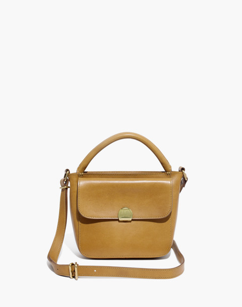The Mini Abroad Crossbody Bag in distant olive image 1