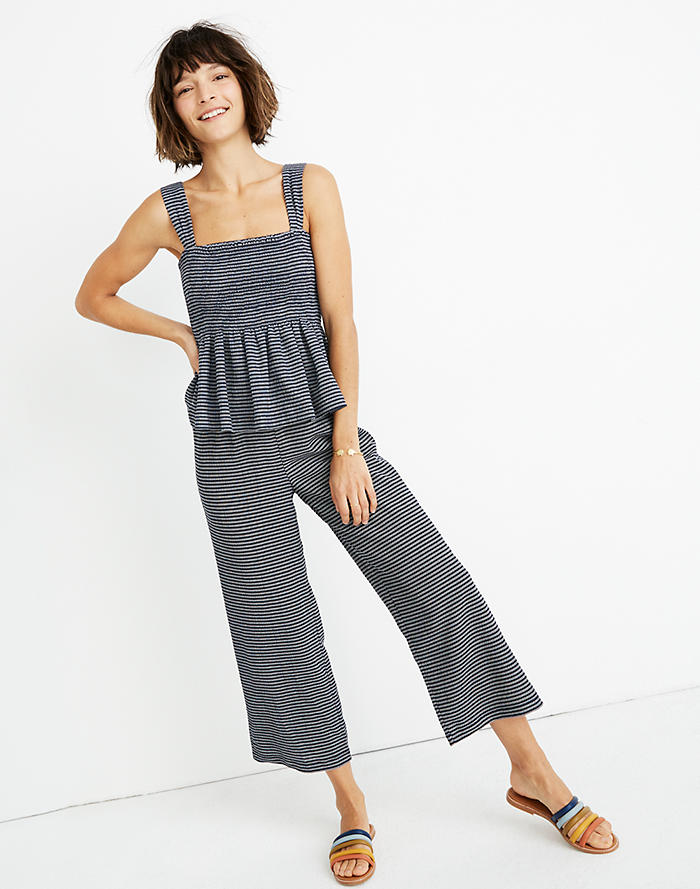 2dce7bb8395 Texture   Thread Pull-On Pants in Stripe