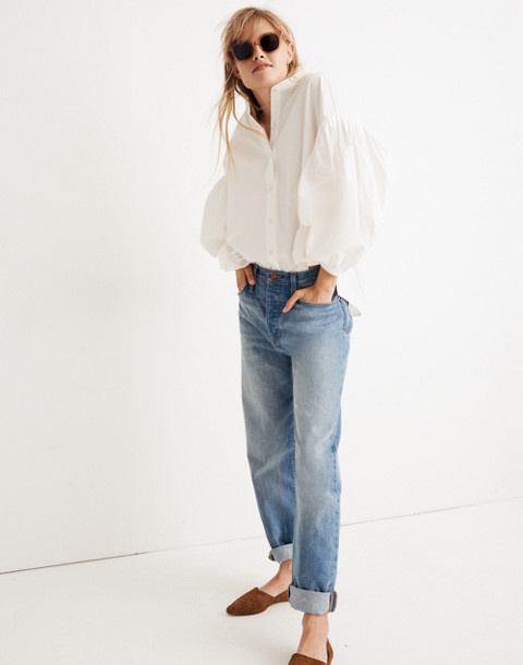 WHIT® Neely Shirt in White in white image 2